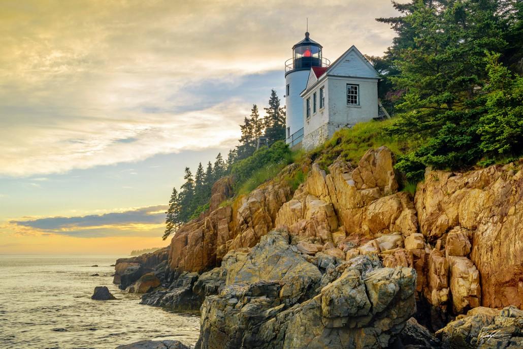 Bass Harbor Lighthouse Maine