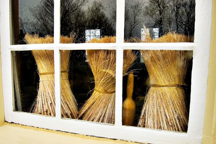 Broom Maker's Shop Window Kentucky