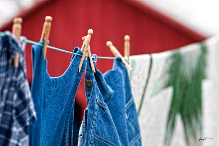 A Country Clothes Line