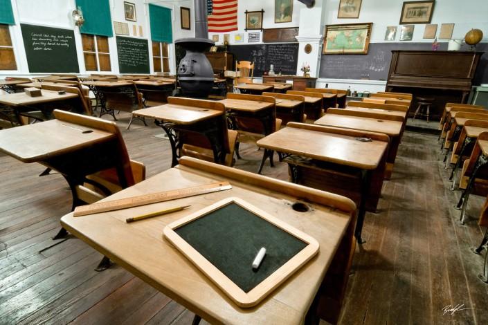 Country School House Highland Illinois