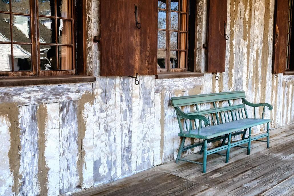 Green Bench Building Ste. Genevieve Missouri