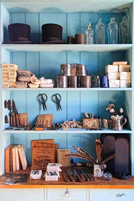 Old Time General Store Shelves