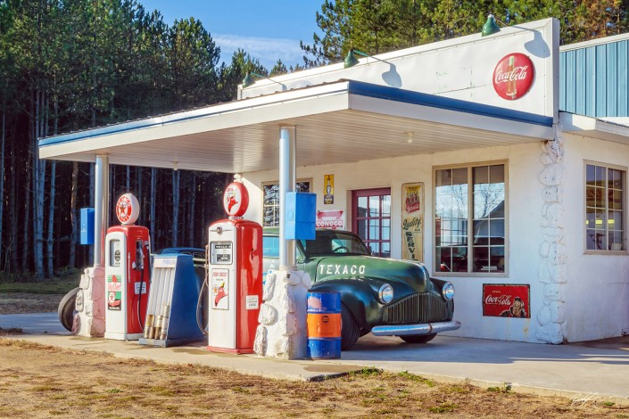 Old Time Service Station