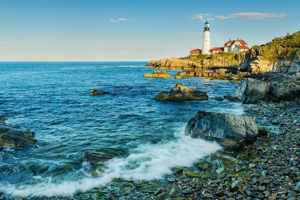 #LH003 - Portland Head Lighthouse Maine