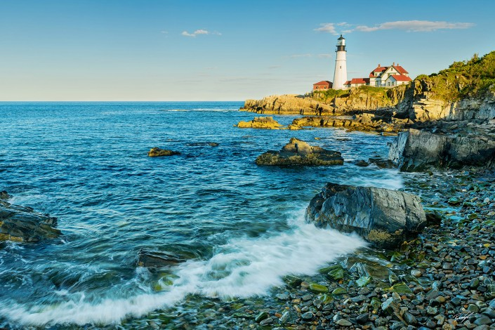 #LH003 - Portland Head Lighthouse Maine
