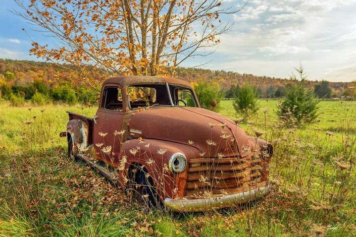 Rusty Truck Rural Missouri