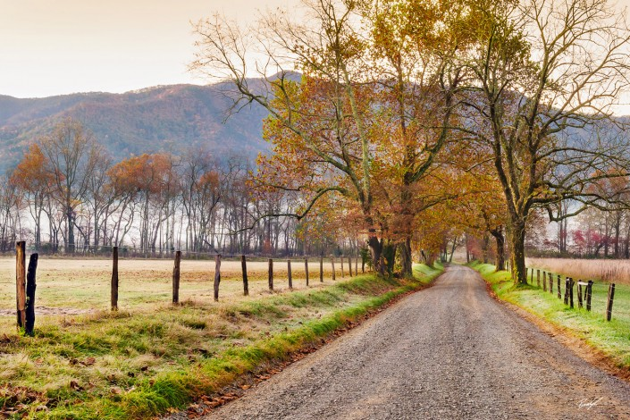 Sparks Lane Cades Cove Smoky Mountain National Park Tennessee