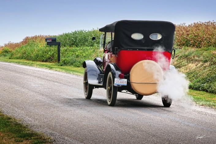 Stanley Steamer Antique Car