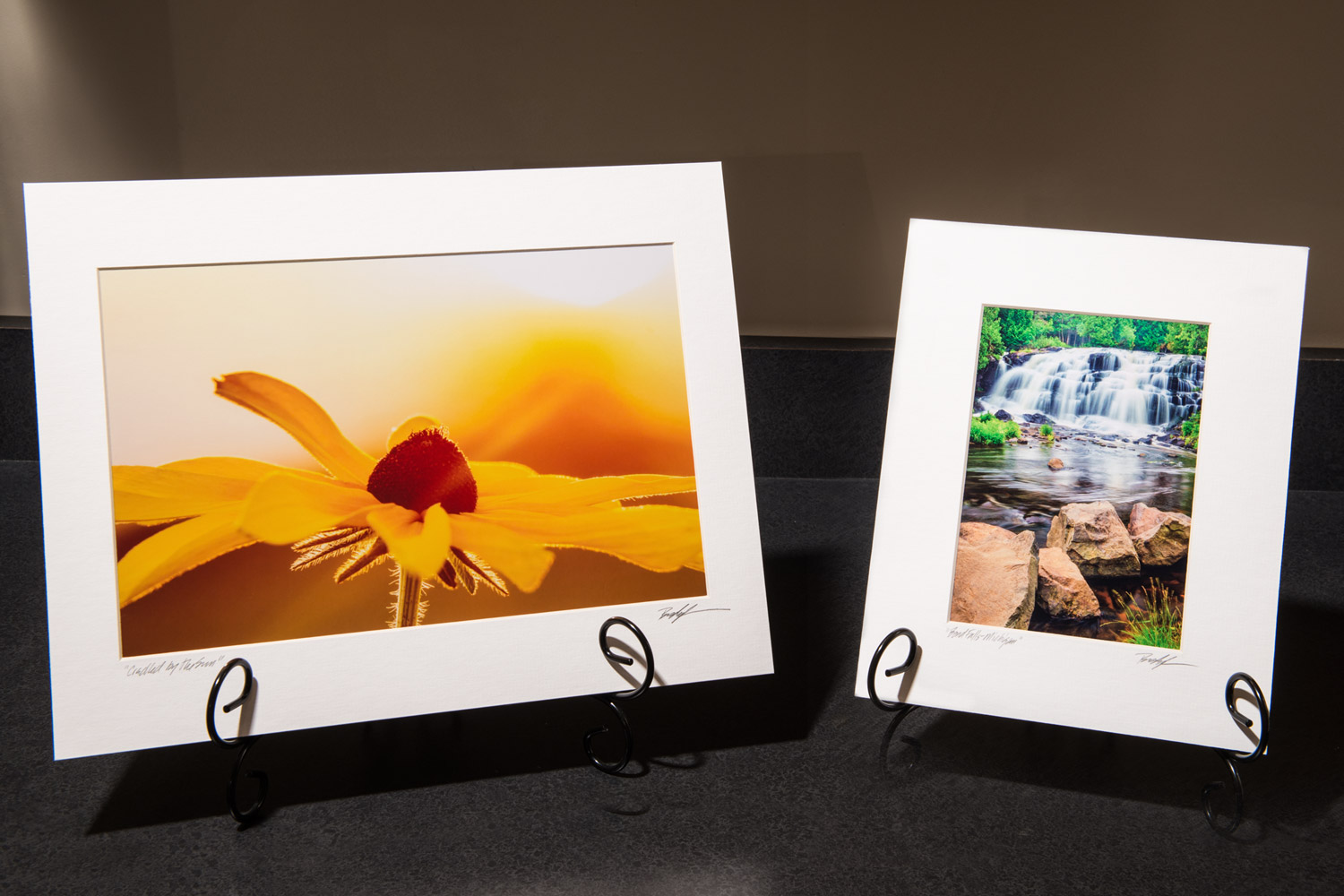 Matted Photographic Prints by Brady Kesner Photography