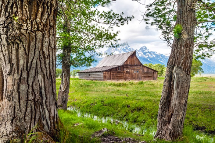 Moulton Barn Grand Teton National Park Wyoming