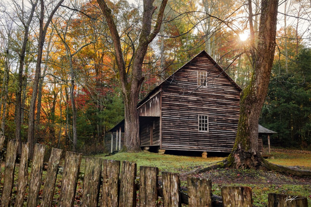 Tipton Place Cades Cove Smoky Mountain National Park Tennessee
