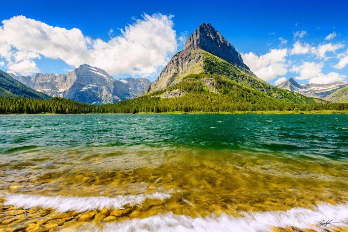 Mount Grinnell Glacier National Park Montana