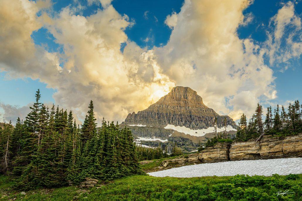 Mount Reynolds Glacier National Park Montana