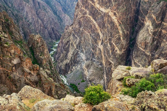 Painted Wall Black Canyon of the Gunnison National Park Colorado