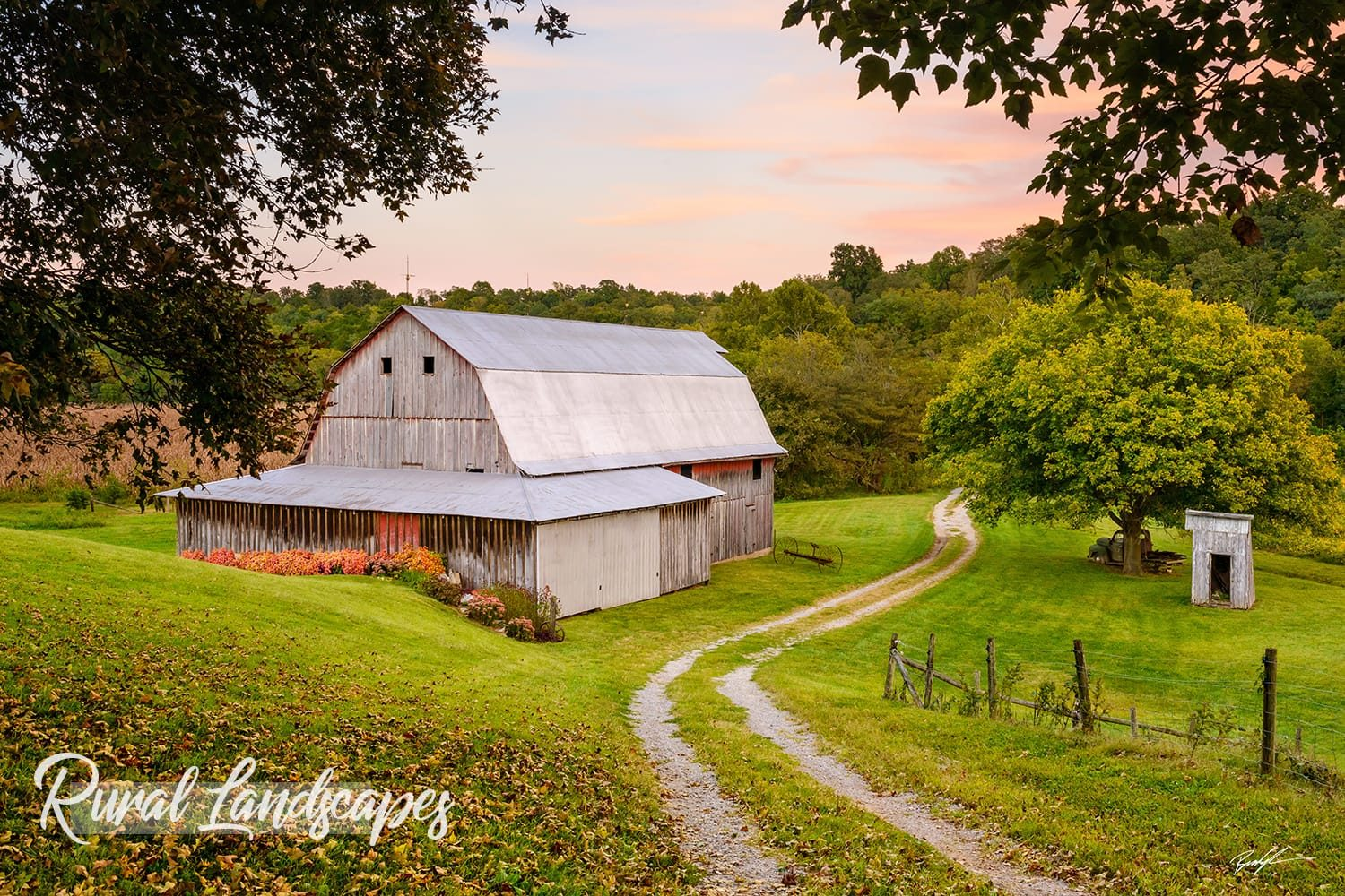 Home and Office Decor Rural Landscape Photography