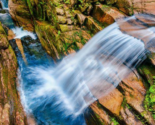 Sabbaday Falls White Mountains New Hampshire
