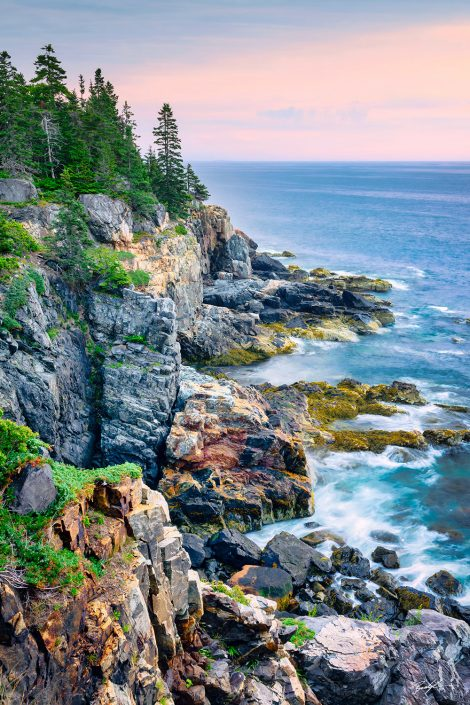 Morning Shoreline Acadia National Park Maine