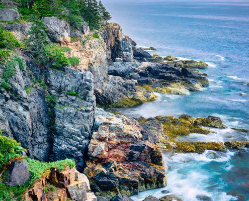 Morning Shoreline Acadia National Park Maine