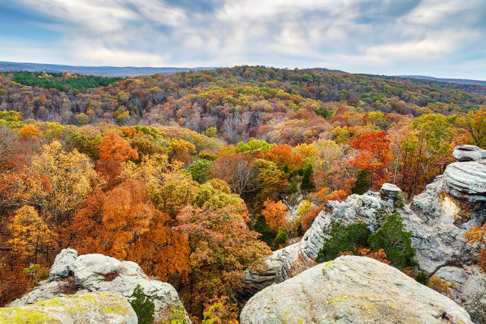 Garden of the Gods Shawnee National Forest Illinois