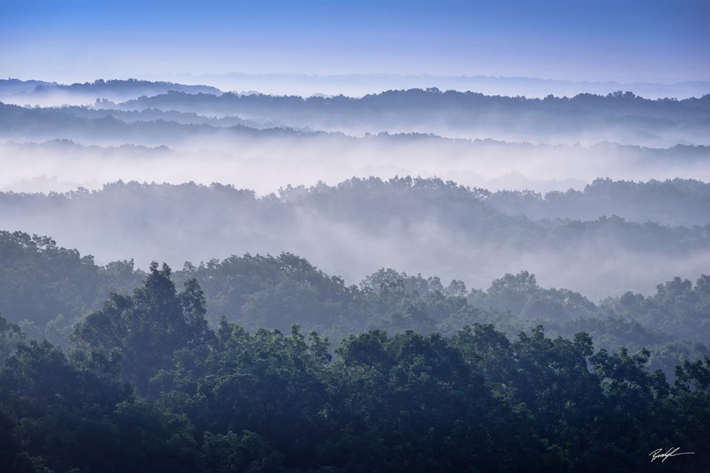 Foggy Hills Brown County State Park Nashville Indiana