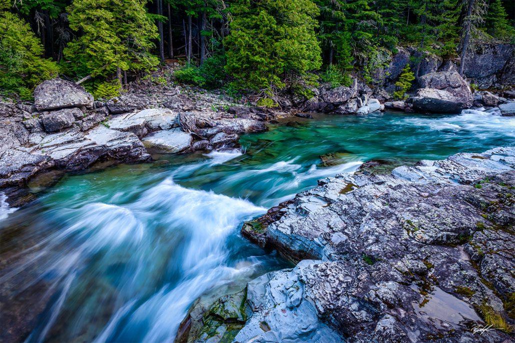 McDonald Creek Glacier National Park Montana
