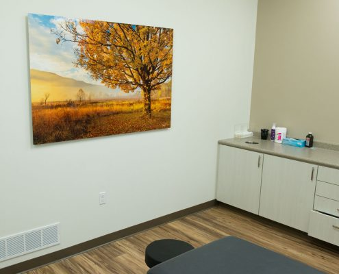 Nature Photography Medical Facility Decor
