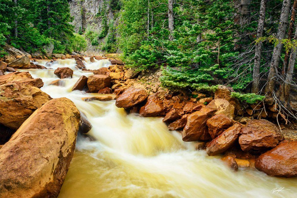 San Juan Mountains Red River Colorado