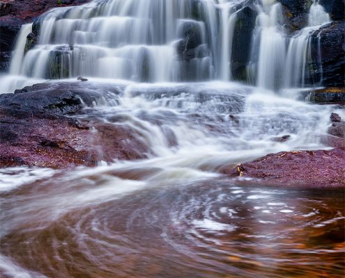 Gooseberry Falls North Shore Minnesota
