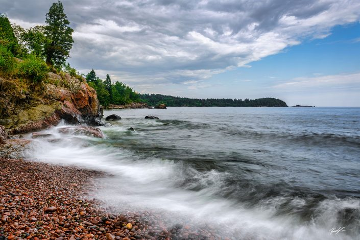 Lake Superior Shoreline North Shore Minnesota
