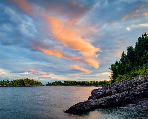 Sugar Loaf Cove Lake Superior North Shore Minnesota