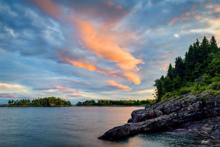 Sugar Loaf Cove Lake Superior North Shore Minnesota