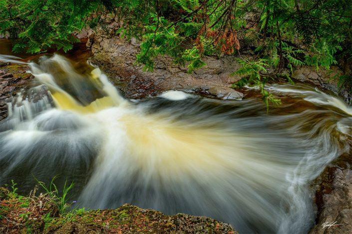 Cascade River North Shore Minnesota