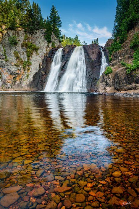 High Falls Tettegouche State Park Minnesota