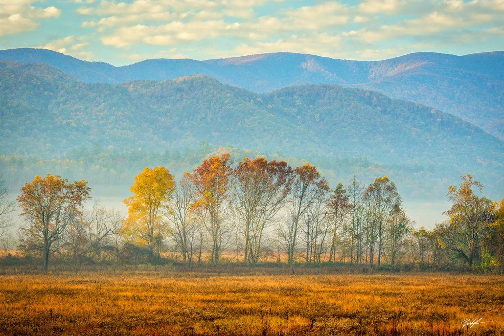 Cades Cove Smoky Mountain National Park Tennessee