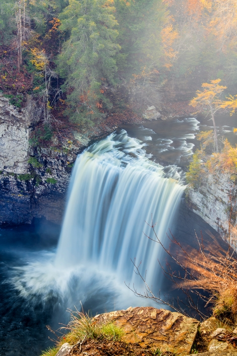 Cane Creek Falls Middle Tennessee