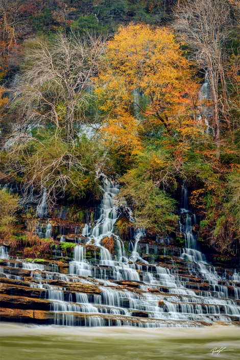 Twin Falls Rock Island State Park Middle Tennessee