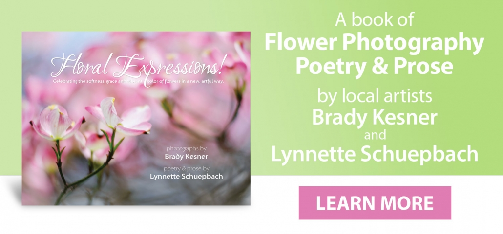 Flower Photography and Poetry Book for Sale