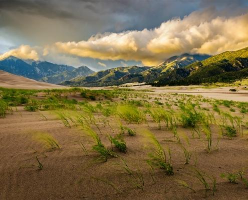 Great Sand Dunes National Park Storm Colorado