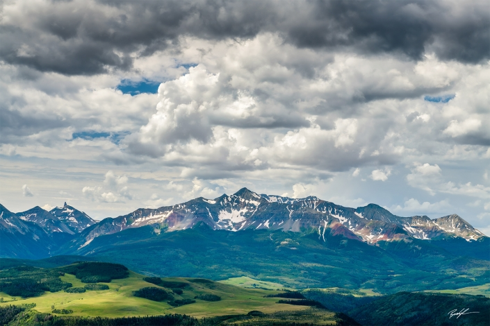 Mount Wilson San Juan Mountains Colorado