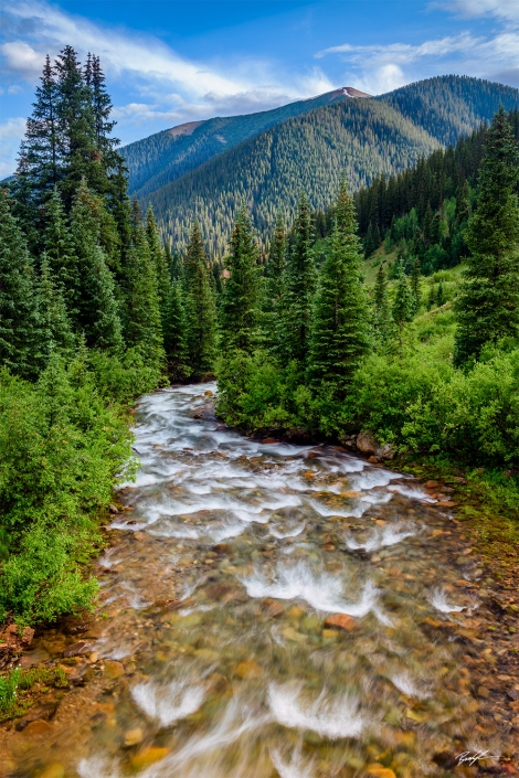 Winding River San Juan Mountains Colorado