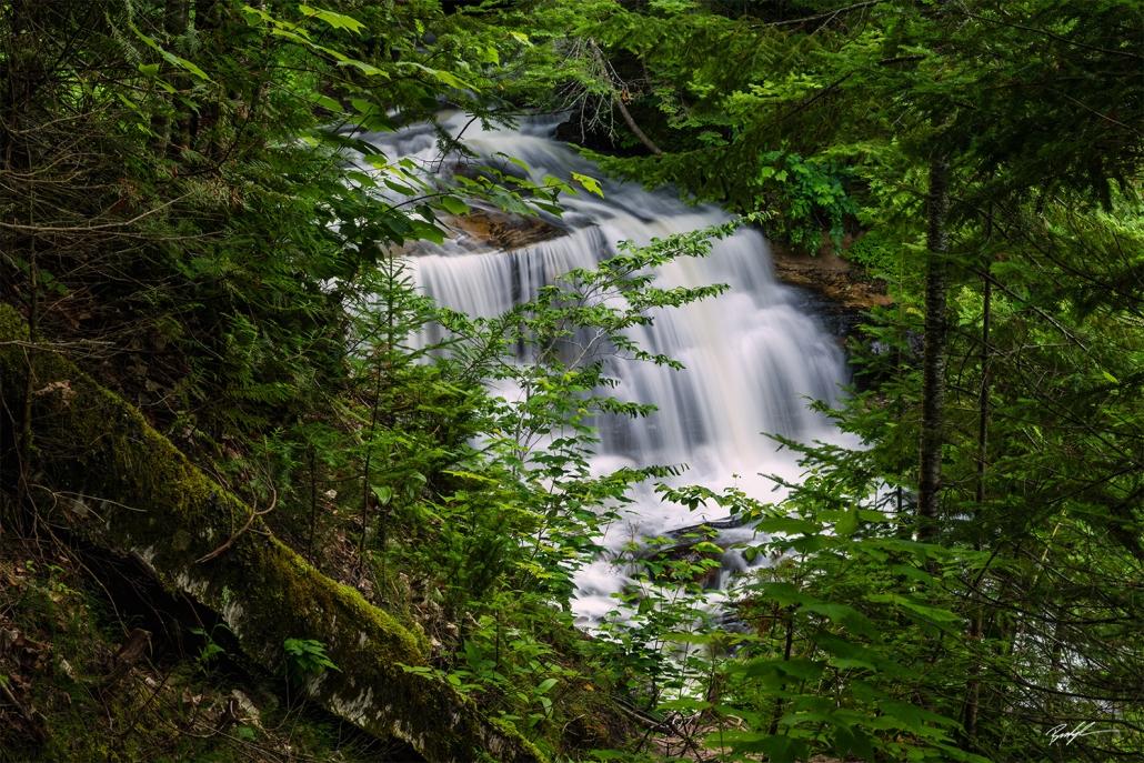 Sable Falls Pictured Rocks National Lakeshore Upper Peninsula Michigan