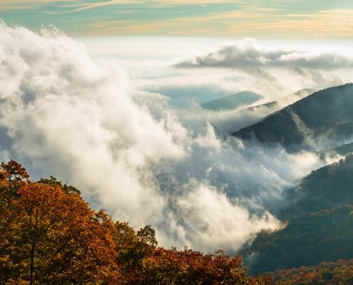 Blue Ridge Parkway Smoky Mountain North Carolina