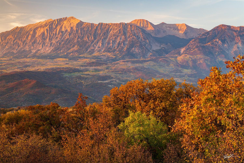 Alpenglow Cimarron Range Colorado