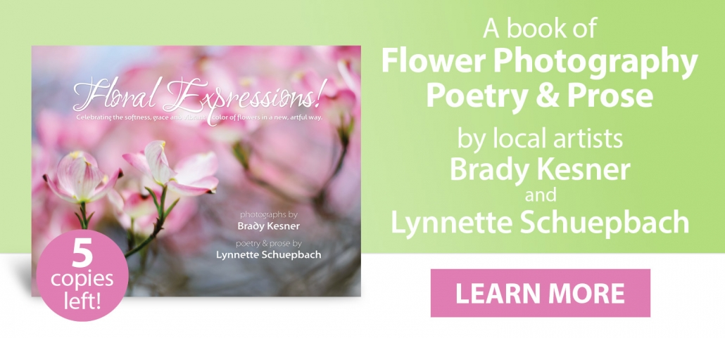 Flower Photography Poetry Book for Sale