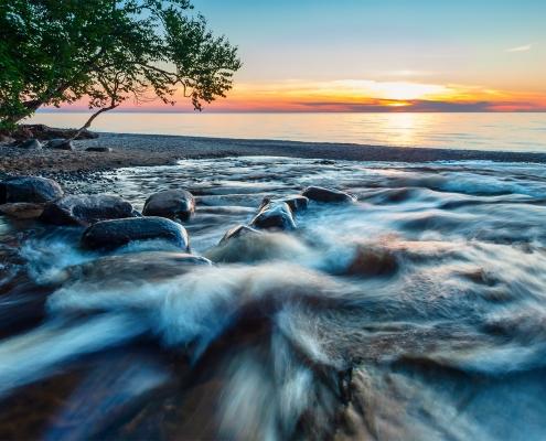 #W106 - Hurricane River Pictured Rocks National Lakeshore Upper Peninsula Michigan