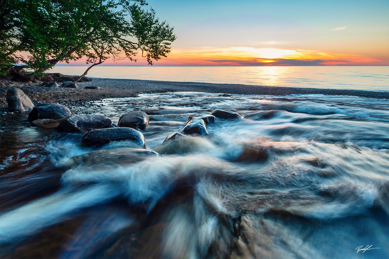 Hurricane River Pictured Rocks National Lakeshore Upper Peninsula Michigan