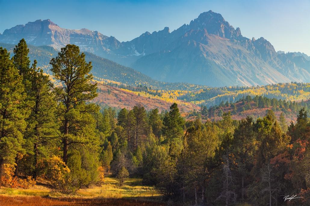 Sneffels Range San Juan Mountains Colorado