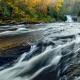Triple Falls Little River DuPont State Forest North Carolina