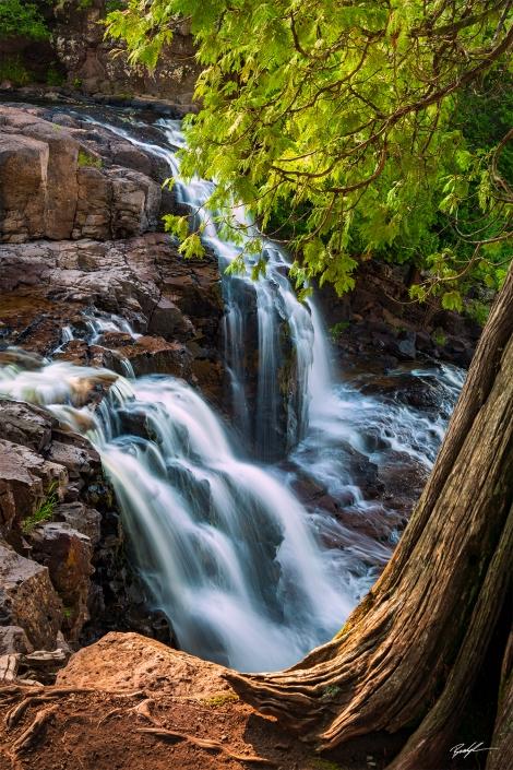Upper Gooseberry Falls North Shore Minnesota