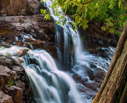 Upper Gooseberry Falls, North Shore, Minnesota